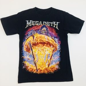 Megadeath Mushroom Cloud Vintage T Shirt Sz M